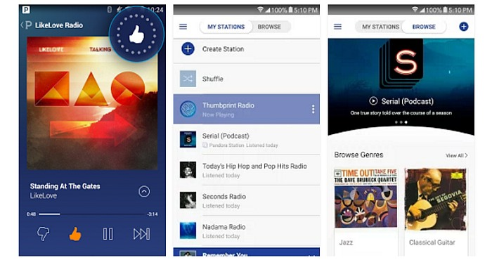 Pandora for Android