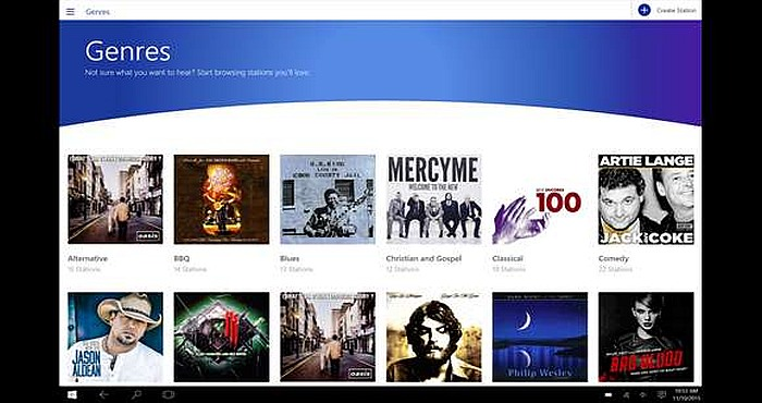 Pandora for Windows