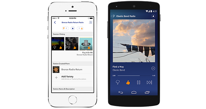 Favorite Music Soundtracks with Pandora Radio App